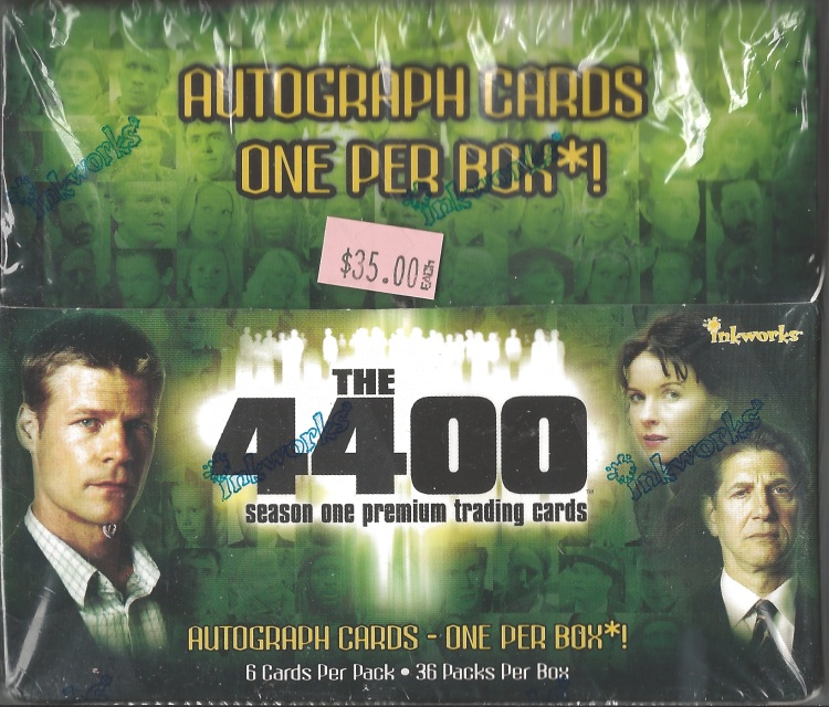 The 4400 Season 1 Trading Cards by Inkworks